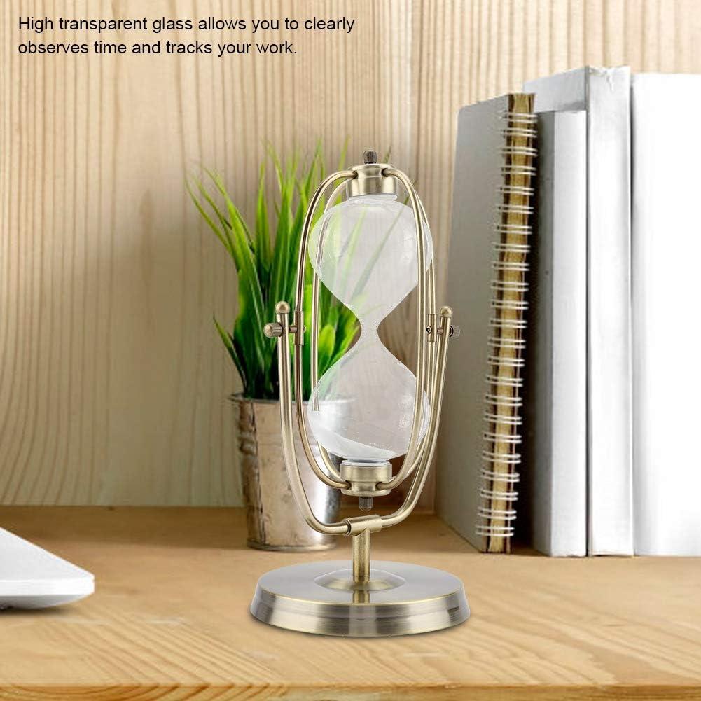 Rotatif Horloge De Sable en Verre Sablier Horloge D/écor /À La Maison Cadeaux D/écor De Bureau Ornement n /° 1: 30 Minutes S