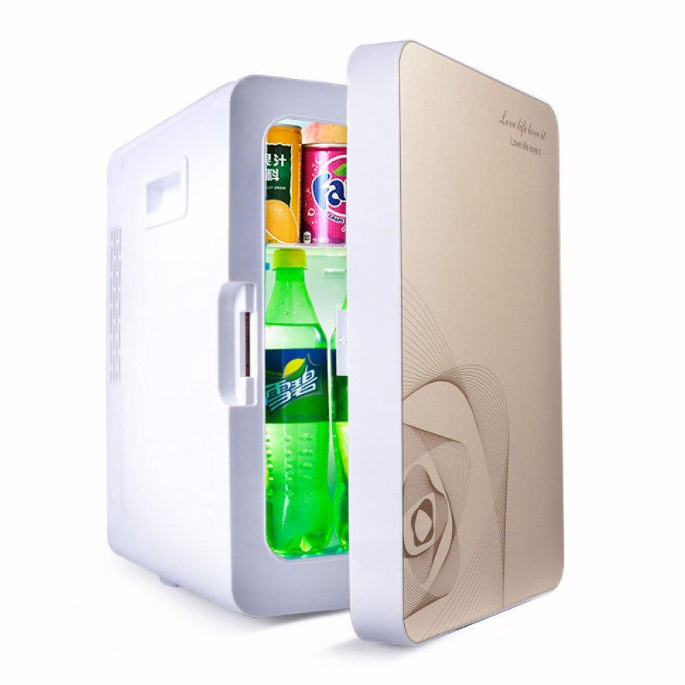 LLX Auto Kühlschrank 20L Low-Power-Studentenwohnheim Mini-Kühlschränke-System Kühlwagen Hause Dual-Use, Blue