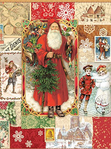 Victorian Christmas a 1000-Piece Jigsaw Puzzle by Sunsout Inc.