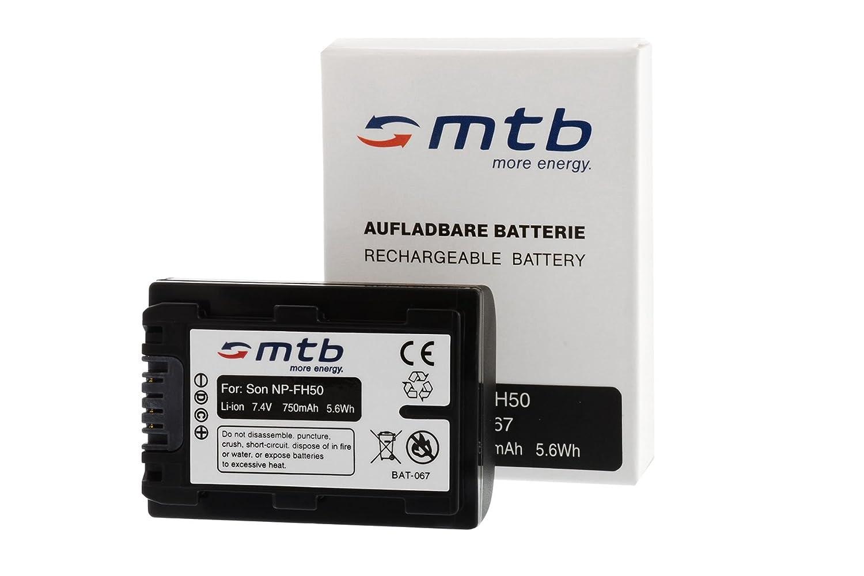 Bater/ía NP-FP50//FH50 para Sony DSC-HX1 HX100 HX100V HX200V