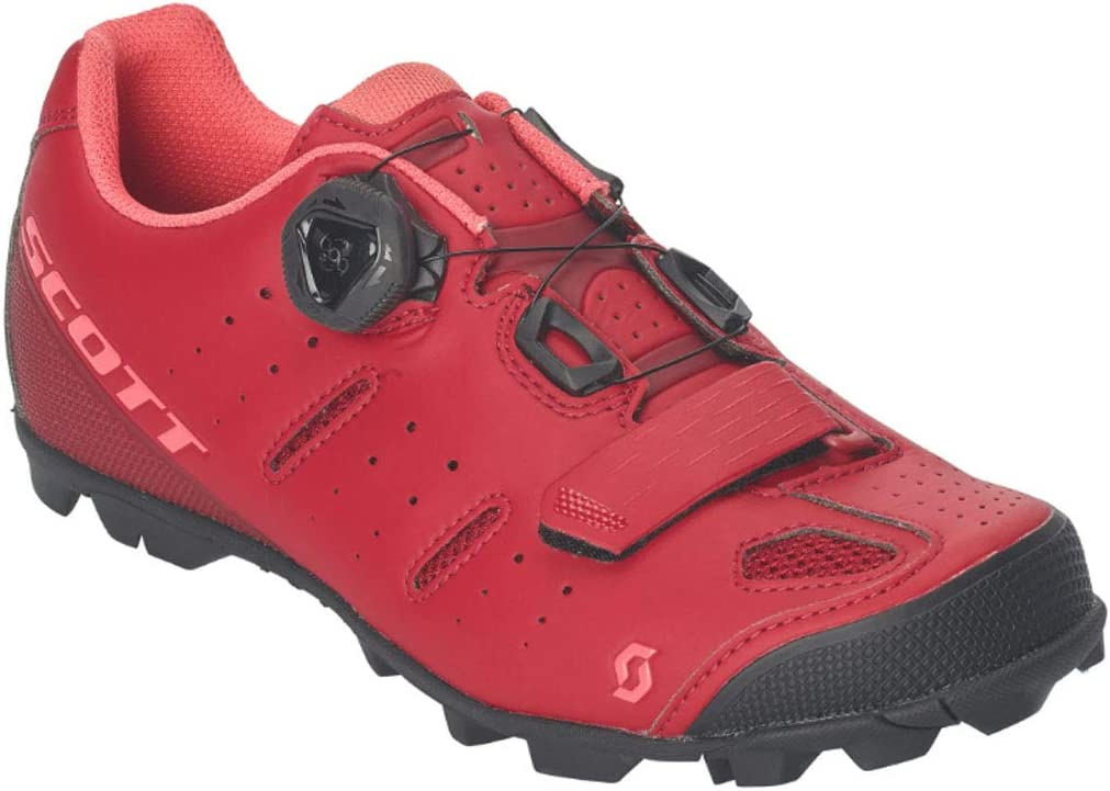 Scott Elite BOA Lady Cycling Shoe - Women's Merlot Red/Camellia Pink, 41.0