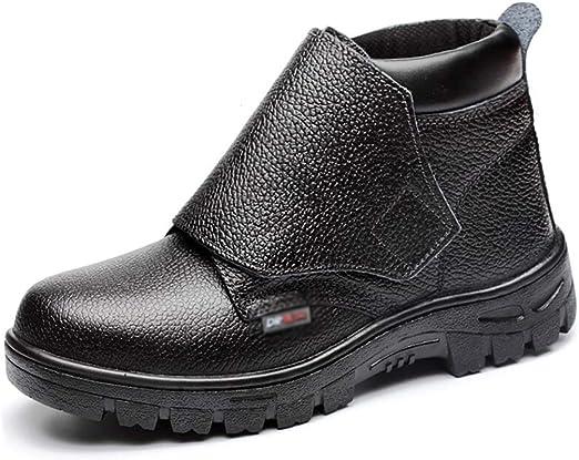 Zapatos de seguridad Resistente al agua Seguridad botas de trabajo ...