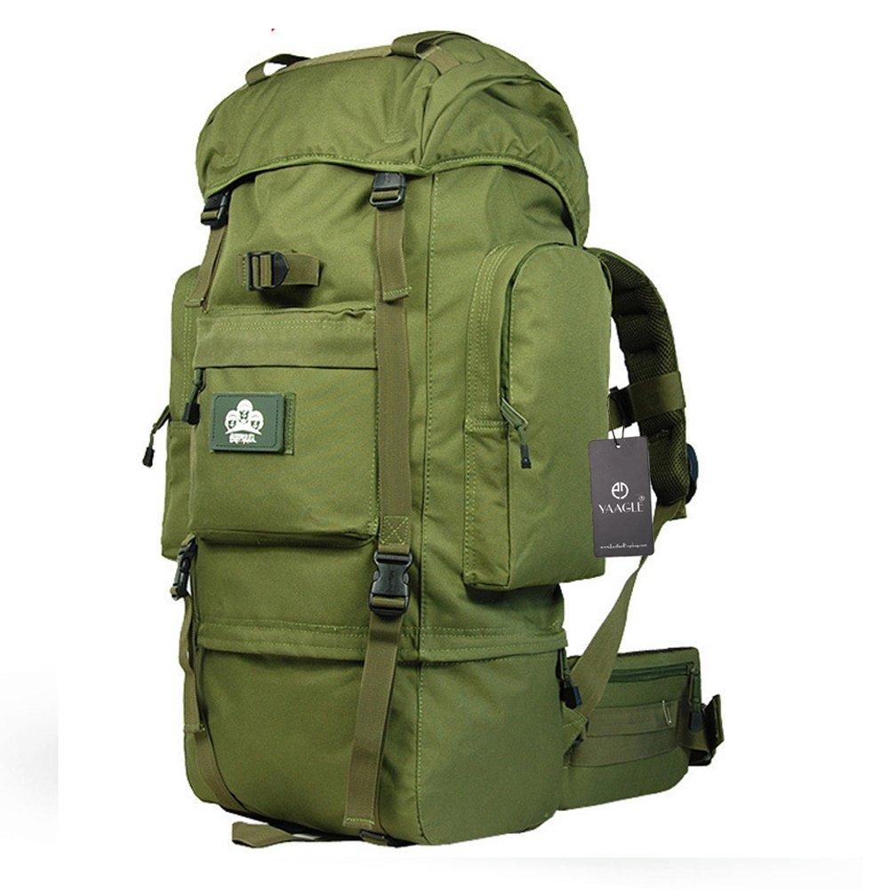 YAAGLE Bergsteigen Taschen Rucksack groß Fassungsvermögen Reisetasche Trekkingrucksack Camping ourdoor Gepäck Sporttasche Schultertasche