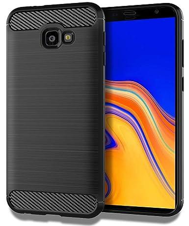 Samsung Galaxy J4 Plus Case,Samsung Galaxy J4 Prime/J4 Core/J4+ Case,Sucnakp TPU Shock Absorption Technology Raised Bezels Protective Case Cover for ...
