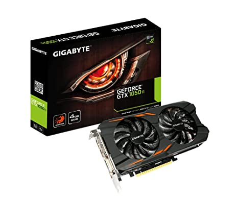 Gigabyte GeForce GTX 1050 Ti Windforce 4G GeForce GTX 1050 ...