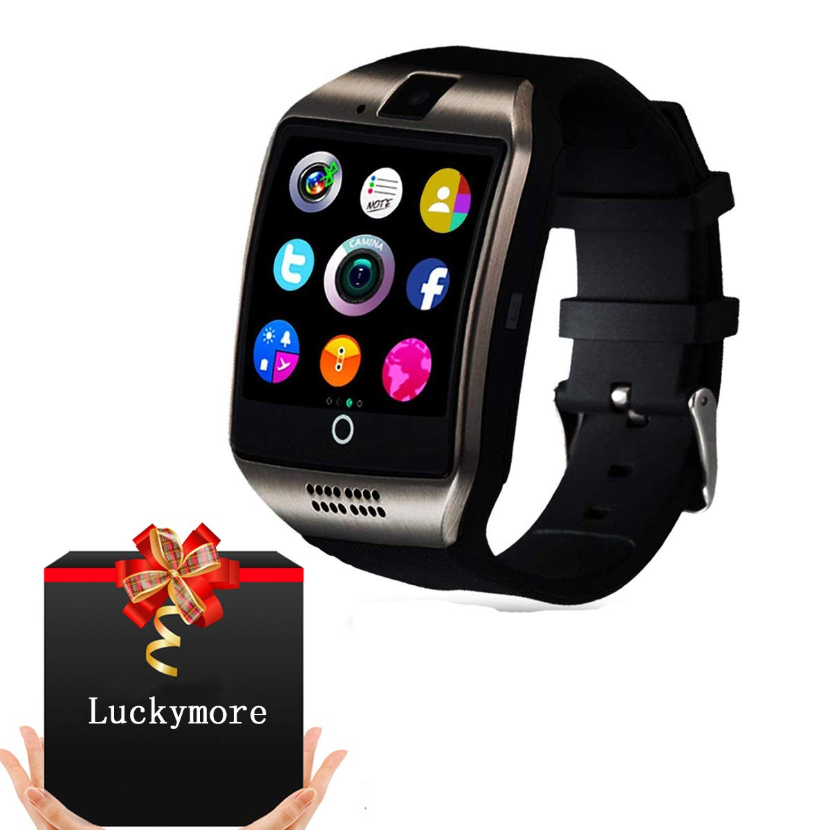 Smart Watch for Android Phones, Bluetooth Smart Watch ...
