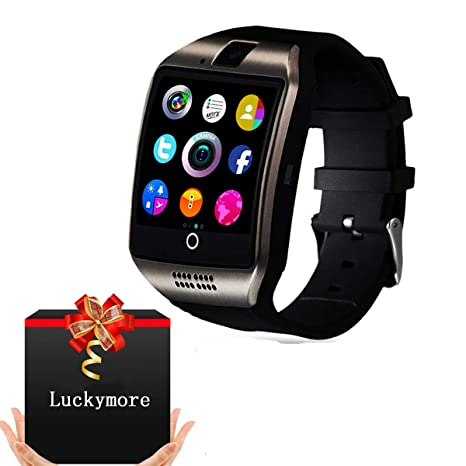 Amazon.com: Smart Watch for Android Phones, Bluetooth Smartwatch Touchscreen with Camera, Smart Watches Waterproof Smart Wrist Watch Phone compatible ...