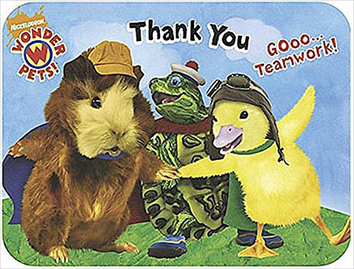 Wonder Pets Party Pack (Wonder Pets Thank You Notes w/ Env. (8ct))