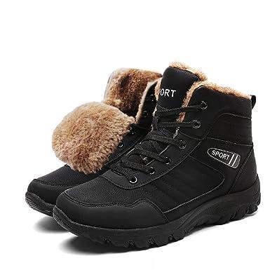 happygo Herren Trekking Wanderstiefel Wasserdicht Rutschfeste Wanderschuhe Outdoor Stiefel Sneaker Boots Braun 46 advt7UU