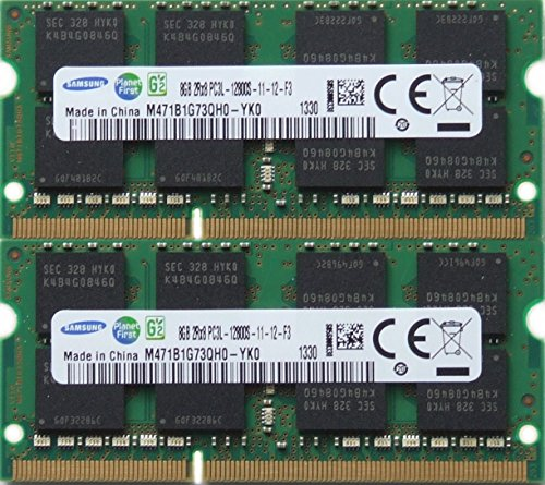pgrade DDR3 PC3 12800, 1600MHz, 204 PIN, SODIMM for 2012 Apple Macbook Pro's, 2012 iMac's, and 2011 / 2012 Mac mini's (16GB kit ( 2 x 8GB )) ()