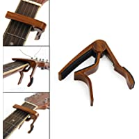 Guitar Capo Quick Change Acoustic Guitar Accessories Guitar Picks Trigger Capo Key Clamp Rosewood