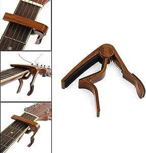 Xatan Guitar Capo Quick Change Acoustic Guitar Accessories Guitar Picks Trigger Capo Key Clamp Rosewood