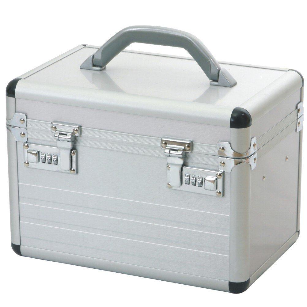 casi di vanità beauty case alluminio argento Lucchetto a combinazione 49007