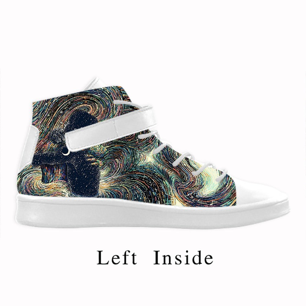 Cool Men schuhe Lyra Round Toe Herren-Schuhe, Schwarz, atmungsaktiv, hohe hohe hohe Knöchel mit Turnschuhe mit Kunst-Design 888ecf