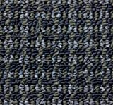 3'x5′ Tahoe Blue Moon Indoor Durable Level Loop Area Rug for the Home with Premium BOUND Polyester Edges.