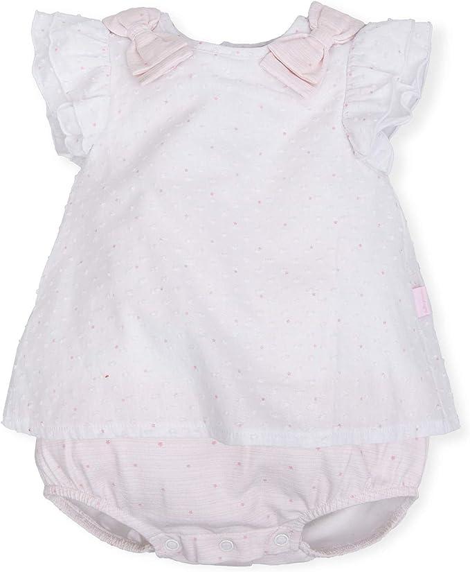 Tutto Piccolo 6812S19 Ropa para Bebé Niño o Niña Ranita Mono Peto Tricot de Algodón (Tallas de 1 a 24 Meses), Color Rosa: Amazon.es: Ropa y accesorios