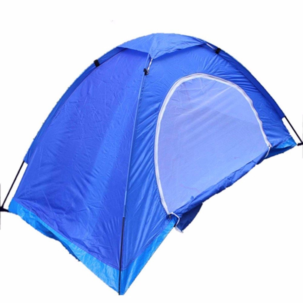 SJQKA-Blau Camping Zelt, Einzelzimmer, Mittagsschlaf Vordach, einfache Moskito Zelt, Strand Angeln zelt