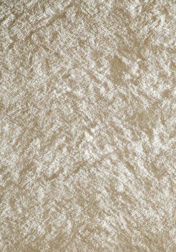 Momeni Rugs LSHAGLS-01WHT3050 Luster Shag Collection, Hand Tufted High Pile Shag Area Rug, 3' x 5', White