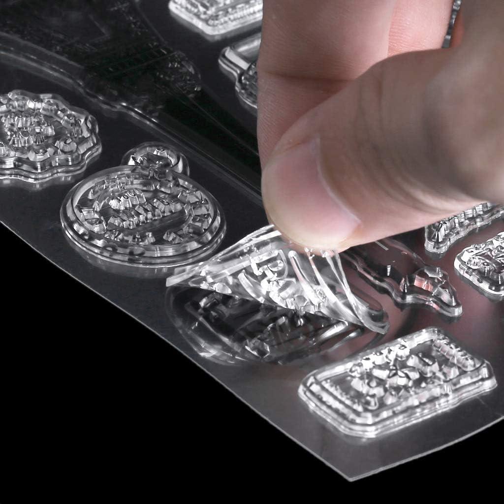 Unknow Paris Tower Sello de silicona transparente para manualidades