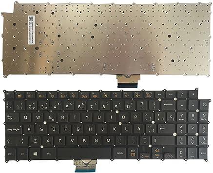 YUHUAI Nuevo Computadora Portátil Reemplazo Teclado para LG ...