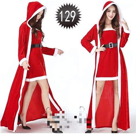 SDLRYF Disfraz De Papá Noel Disfraces De Navidad Santa Claus Ropa ...