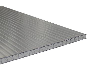 Quinn Plastics Stegplatten 6mm Fur Gewachshaus Uv Klar 1 Lfm Breite 525 695mm Incl