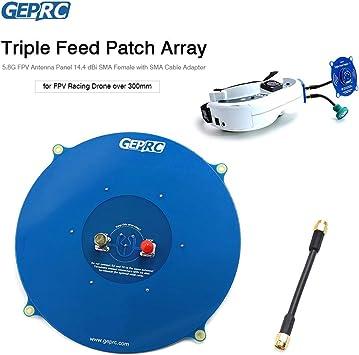Leslaur GEPRC Triple Feed Patch Array 5.8G: Amazon.es ...