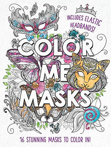 Color Me Masks: 16 Stunning Masks to Color In! -