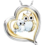 Owl Necklaces for Women Lucky Owl of Night Pendant Necklace Owl Pendant Necklace Lovely Animal Pendant Necklace