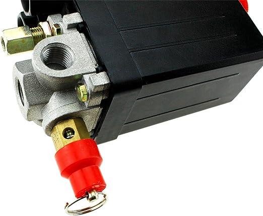 8 8 Bar 1 4 Bsp Kompressor Air Sicherheitsventil Sicherheit Druck 127psi Baumarkt