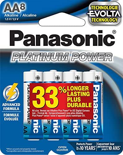 Batteries: Panasonic Platinum Power