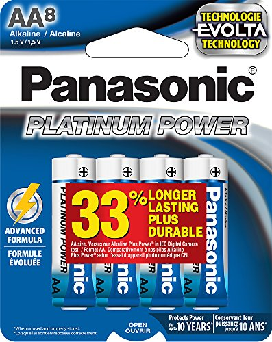 Panasonic Corporation LR6XE 8B Batteries