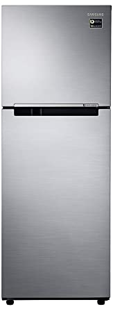 Samsung 253 L 3 Star Frost Free Double Door Refrigerator(RT28N3083S9/HL, RT28N3083S9/NL, Refined Inox, Inverter Compressor) Refrigerators at amazon