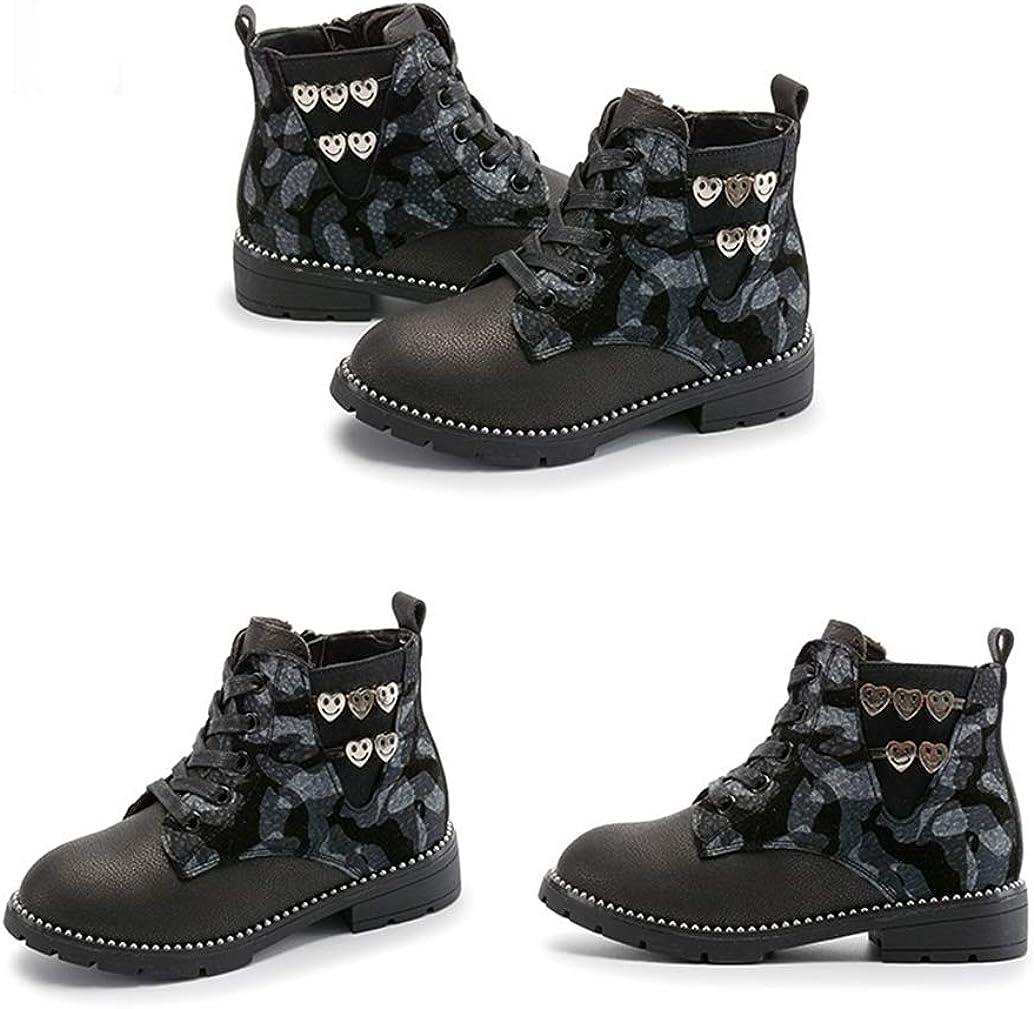 Toddlers Little Boys Girls Winter Casual Sneaker Warm Ankle Boots EU 35//3 M US Little Kid-Black