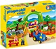 Playmobil 6754 1.2.3 Large Zoo