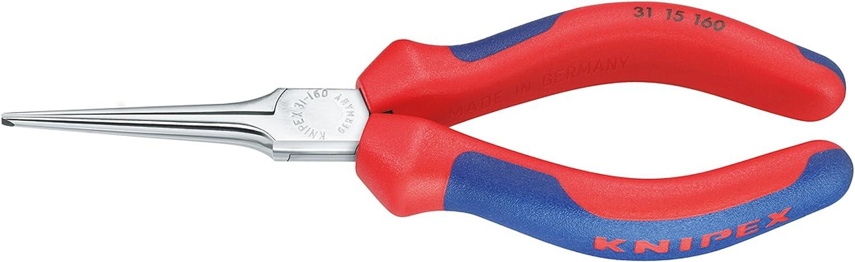 cromata rivestiti in materiale bicomponente 160 mm a becchi lunghissimi KNIPEX 31 15 160 Pinza prensile