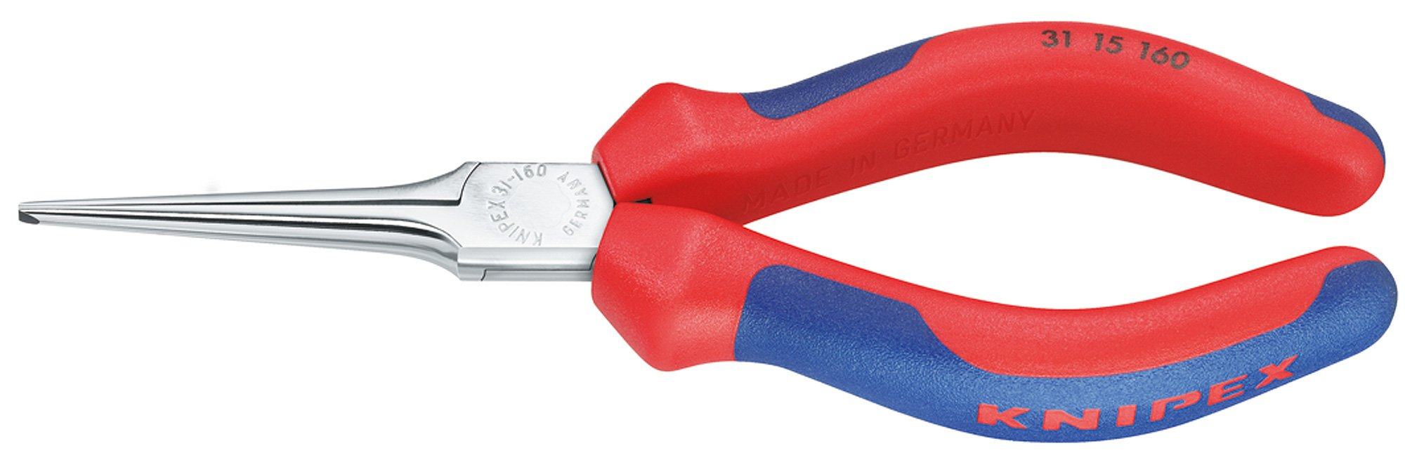 31 15 160 Gripping-/Needle-Nose Pliers 6, 3'' with Soft Handle