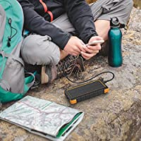 RAVPower 25000mAh Solar Portable Charger...