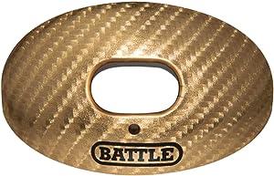 Battle Sports Carbon Chrome Oxygen Mouthguard, Gold