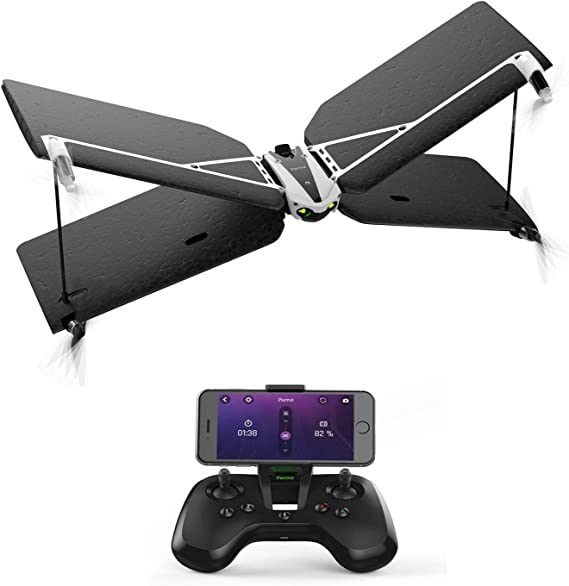 Parrot Loro MiniDrone Swing con FlyPAD controlador (Certificado Reformado): Amazon.es: Juguetes y juegos