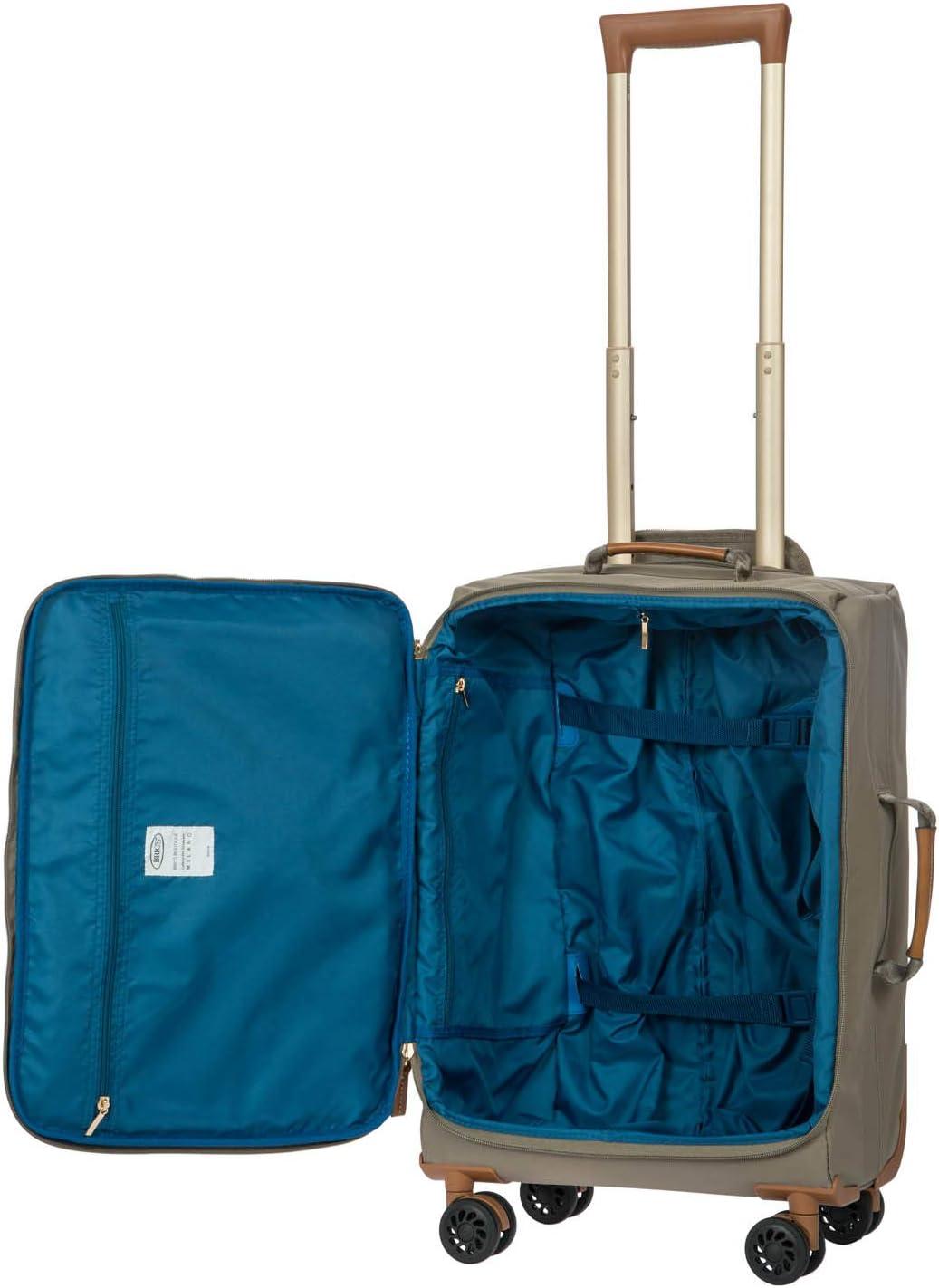 Brics X-Bag//x-Travel 21 Inch International Carry On Spinner W//Frame Dove Grey