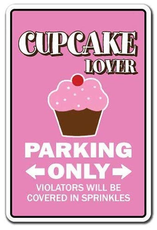 Tiisio Cartel de Metal para decoración de Cupcakes, diseño ...