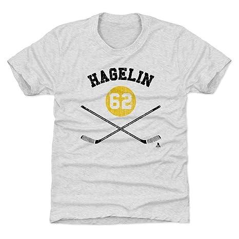 pretty nice 813e6 a3d3b Amazon.com : 500 LEVEL Carl Hagelin Pittsburgh Hockey Kids ...