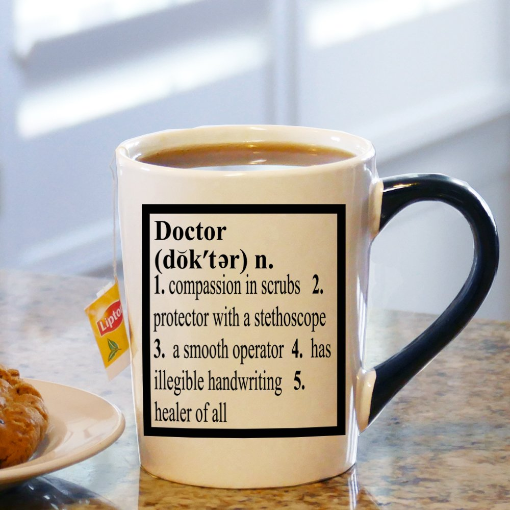 Worlds best doctor coffee mugs - Amazon Com Tumbleweed Doctor Definition 20 Ounce Ceramic Coffee Mug Kitchen Dining