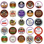 Coffee Variety Pack Sampler, Single Serve Cups for Keurig K Cup Brewer, 100 count made by Perfect Samplers