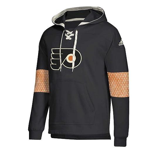 : adidas Philadelphia Flyers Adult NHL Pull Over