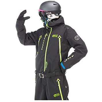 574f8f7820f Picture Men s Apollo Ski Snowboard All In One Suit Black M.VT.030 Large   Amazon.co.uk  Sports   Outdoors