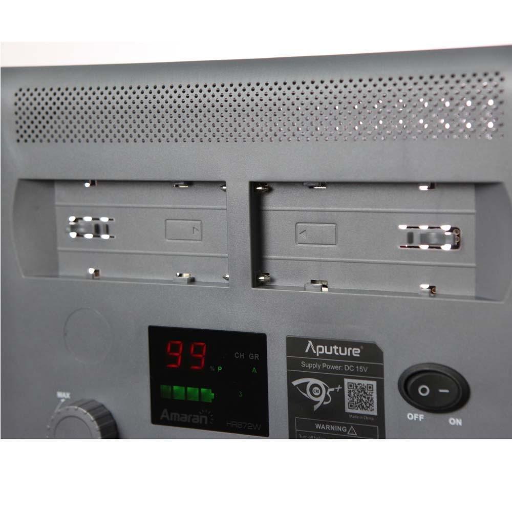 Aputure HR672 W Amaran luz de vídeo LED de alta CRI 95 +: Amazon.es: Electrónica