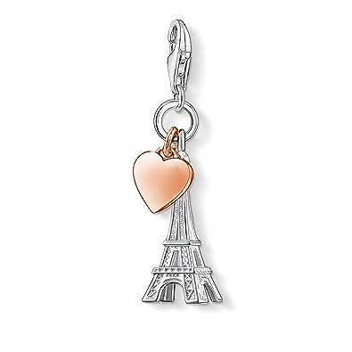 Thomas Sabo Encanto Pendiente De La Torre Eiffel 0029-001-12 Thomas Sabo TfscypSfu