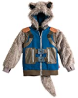 Marvel Rocket Raccoon Hooded Costume Jacket for Boys - Guardians of the Galaxy Vol. 2
